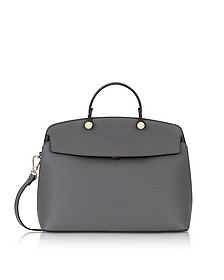 Mercury Leather My Piper Medium Top Handle Satchel Bag - Furla