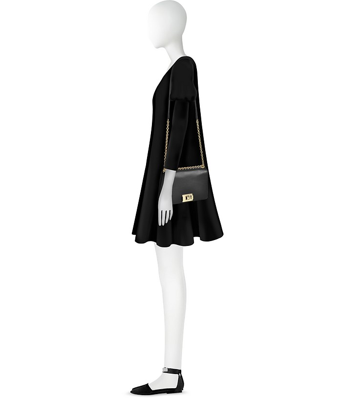 9d257f392784 Furla Black Onyx Mimì S Crossbody Bag at FORZIERI Australia