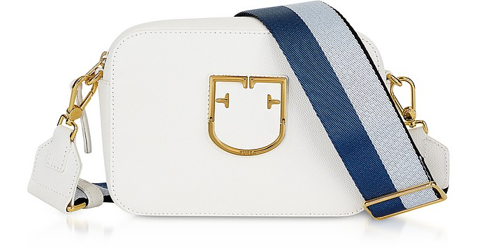 33700002778 Furla Chalk Brava Mini Crossbody Bag at FORZIERI