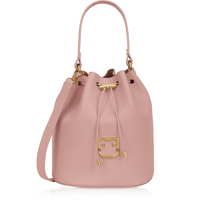 Corona S Drawstring Bucket Bag - Furla