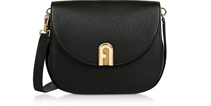 Genuine Leather Sleek S Crossbody Bag - Furla