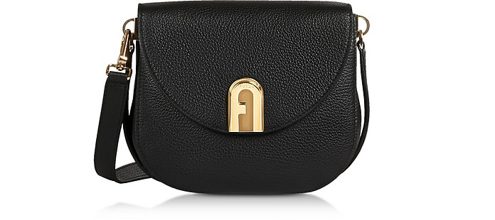 Genuine Leather Sleek Mini Crossbody Bag - Furla