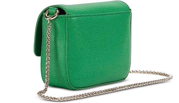 70df4ddd72 Metropolis Saffiano Leather Mini Crossbody Bag w Chain - Furla. Sold Out