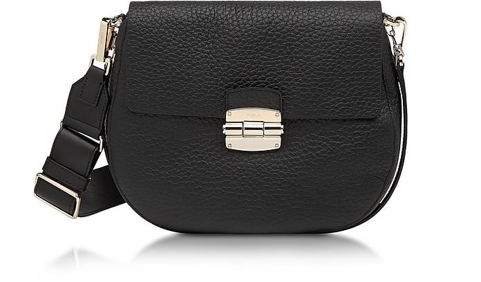 325370dd10fb Furla Club S Onyx Pebble Leather Crossbody Bag at FORZIERI UK
