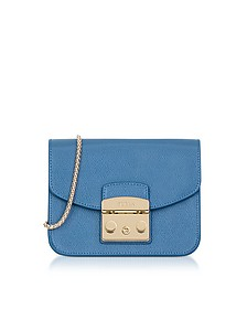 Celeste Leather Metropolis Mini Crossbody Bag  - Furla