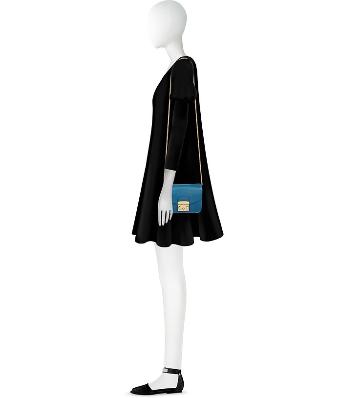 8727b7a100cd Celeste Leather Metropolis Mini Crossbody Bag - Furla. C 226.80 C 378.00  Actual transaction amount