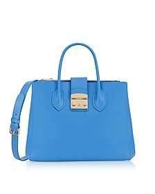 Celeste Leather Metropolis Medium Tote bag - Furla