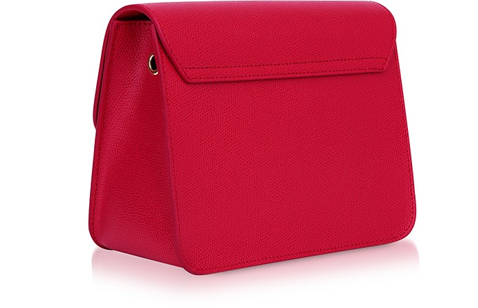 57a4abc1c Ruby Red Leather Metropolis Small Crossbody - Furla. Sold Out