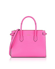 Leather E/W Pin Small Tote Bag - Furla