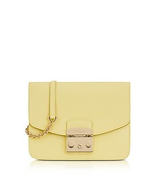 Cedro Leather Metropolis Small Crossbody - Furla