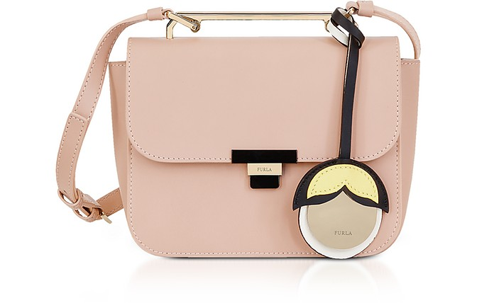 Elisir Mini Crossbody in pelle Moonstone Furla 1voDW7HGZ