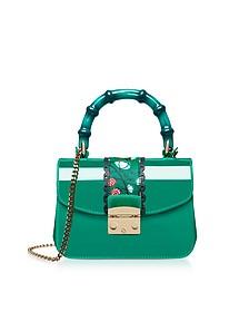 Candy Esotica Emerald Top Handle Mini Crossbody Bag - Furla