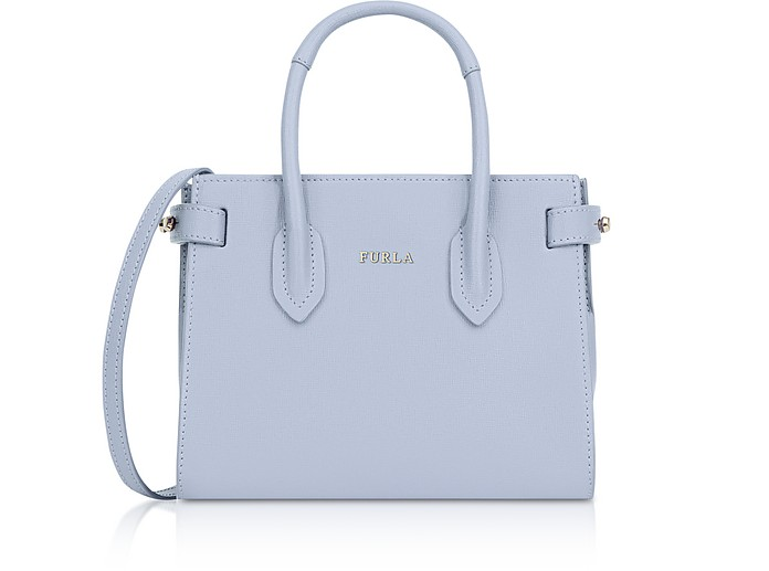 Saffiano Leather Pin Mini Tote Bag - Furla