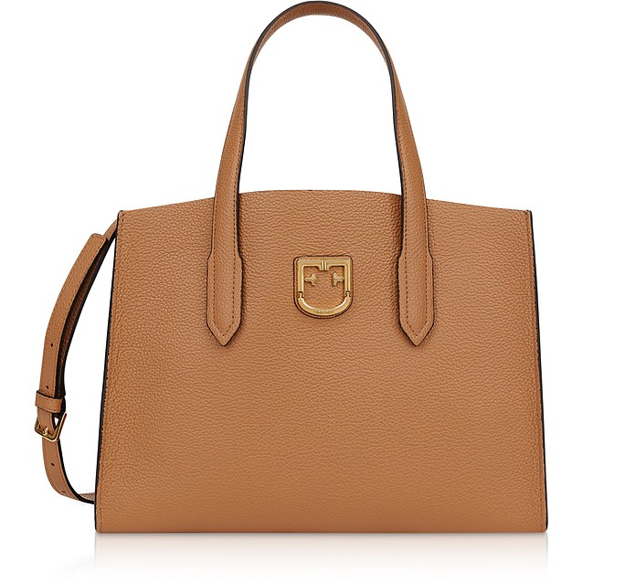Lodovica Leather Medium Tote - Furla