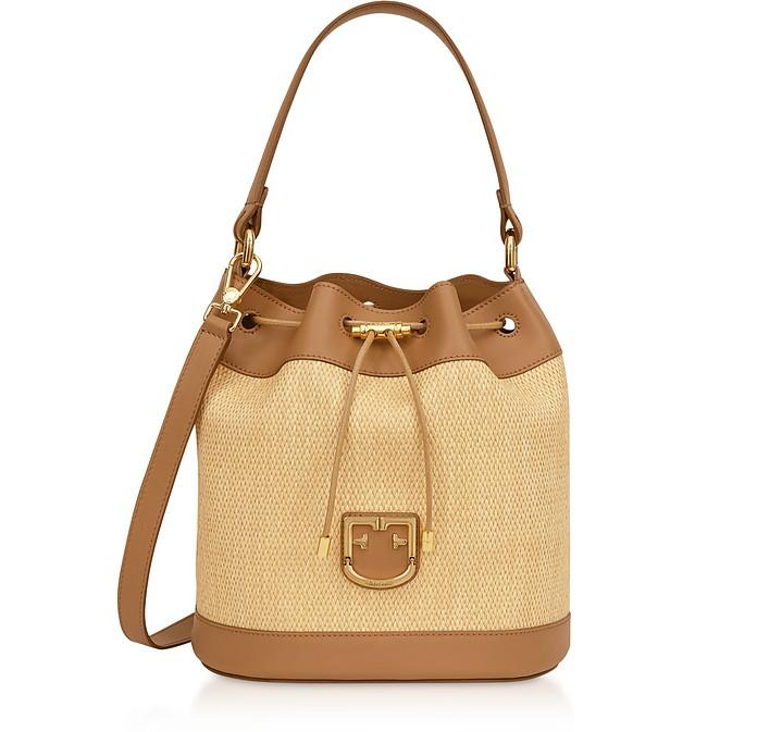 Corona S Drawstring Bucket Bag - Furla