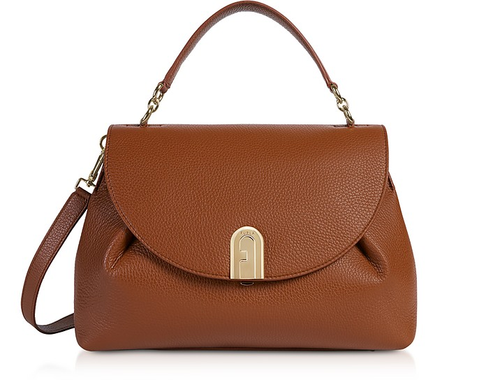 Sleek M Top-Handle Satchel - Furla