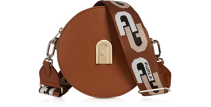 Sleek Mini Round Crossbody Bag - Furla