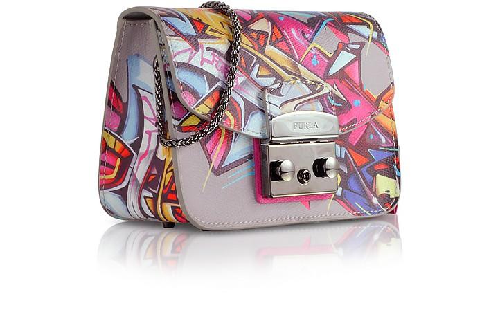 db5ac06cdc32a Metropolis Toni Pinky Graffiti Mini Crossbody Bag - Furla.  428.00 Actual  transaction amount
