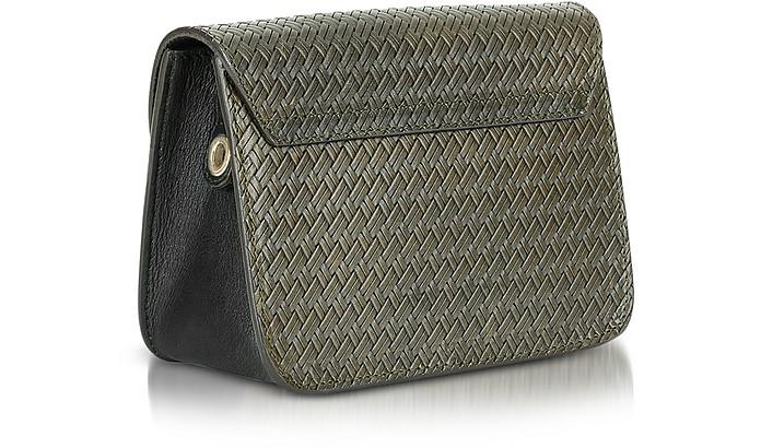 b313cda82dc Salvia Woven Leather Metropolis Gilda Mini Crossbody Bag - Furla. Sold Out