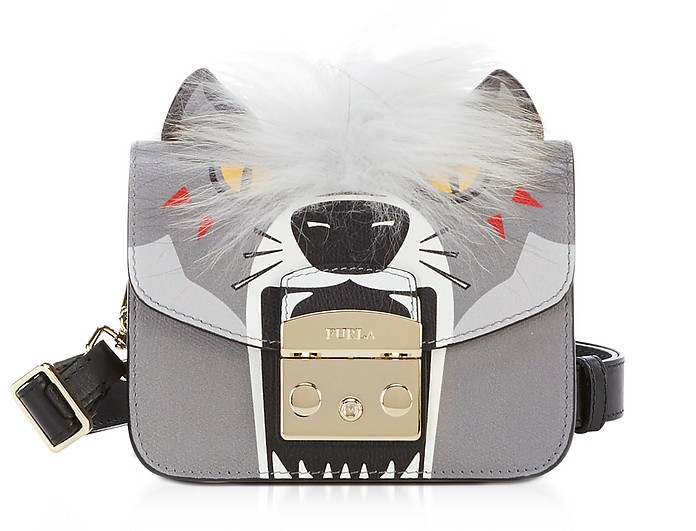 51437dcd03 Furla Metropolis Jungle Wolf Mini Crossbody Bag at FORZIERI Canada