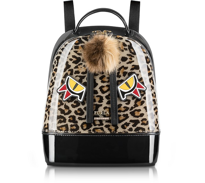 Leopard Print and Toni Glace Candy Jungle Small Backpack - Furla