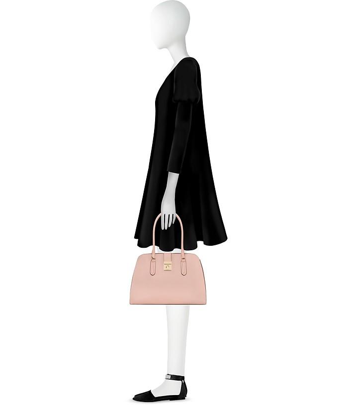 Shopper Milano Medium in Pelle Moonstone Furla fPwsguc