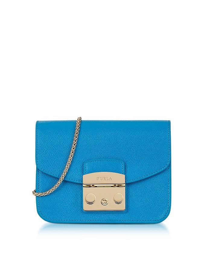 Bolsa Azul Metrópolis Furla eAv605eY5