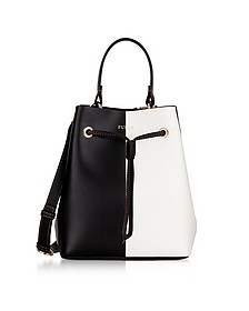 Stacy S Onyx and Petalo Bucket Bag - Furla