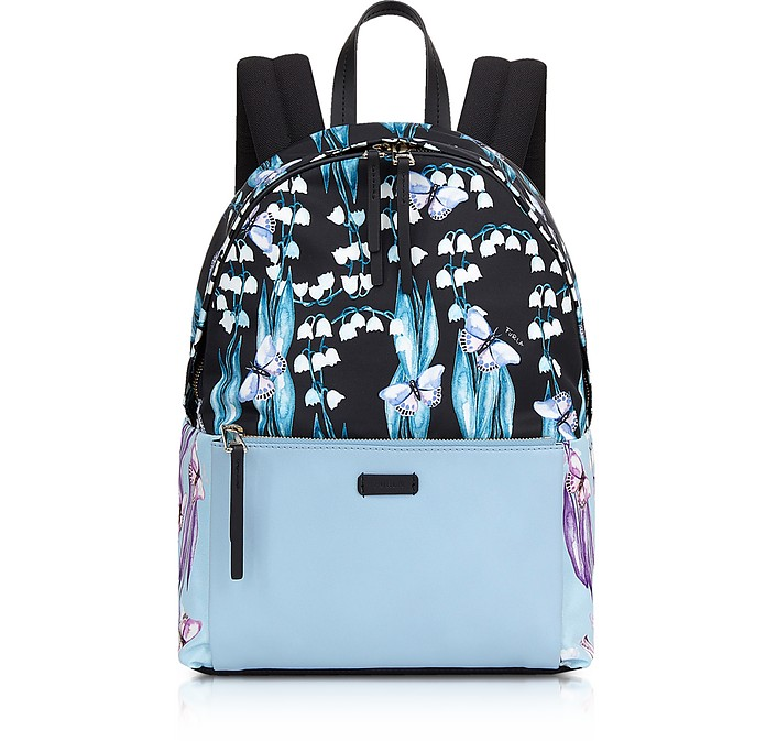 Fiordaliso Blue Giudecca Small Backpack - Furla