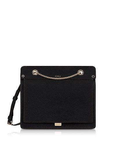 Like Small Leather Crossbody Bag w/Chain Strap - Furla