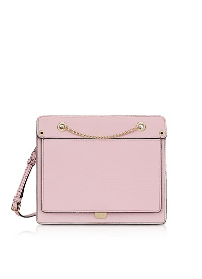 Like Small Leather Crossbody Bag w/Chain Strap - Furla