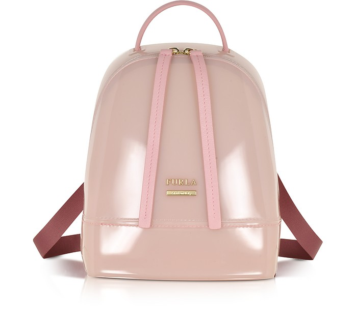 Candy Winter Rose Mini Backpack - Furla