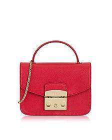 Ruby Metropolis Mini Top Handle Crossbody Bag - Furla