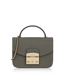 Argilla Metropolis Mini Top Handle Crossbody Bag - Furla