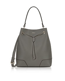 Stacy M Argilla Leather Bucket Bag - Furla