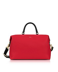Ruby and Petalo Leather Blogger M Satchel Bag - Furla