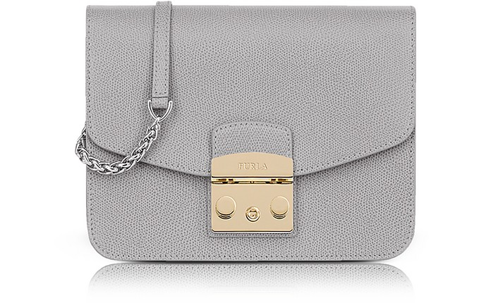 Leather Metropolis Small Crossbody - Furla