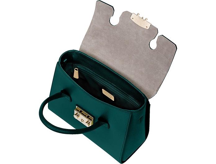06ee79e92cc5 Genuine Leather Metropolis Small Satchel Bag - Furla. C 417.00 C 695.00  Actual transaction amount