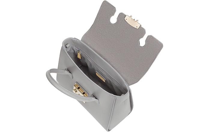 bc18af7815f3 Furla Ash Genuine Leather Metropolis Small Satchel Bag at FORZIERI