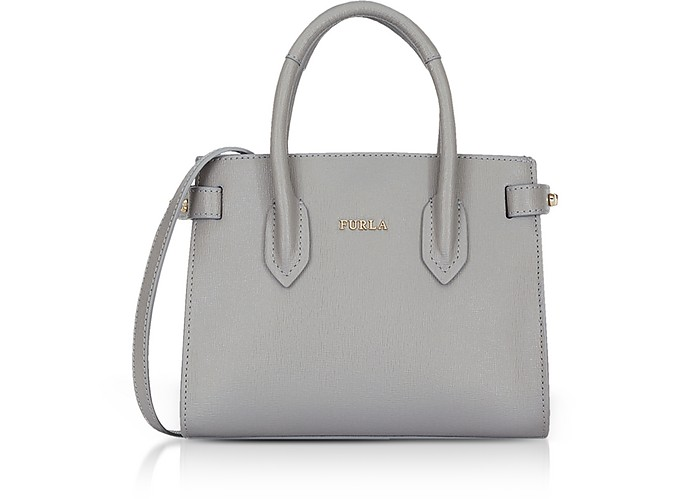Pin Mini Tote Bag w/Shoulder Strap - Furla