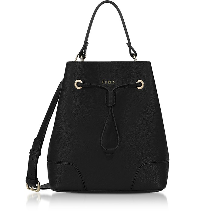 Stacy Small Drawstring Bucket Bag - Furla