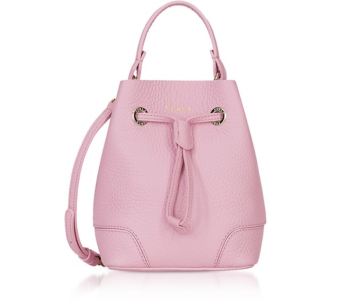Stacy Mini Drawstring Bucket Bag - Furla