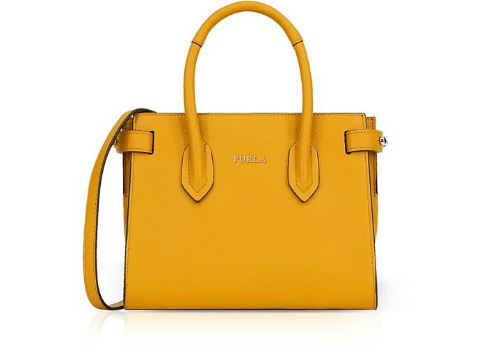 Pin Mini Tote Bag w/Shoulder Strap - Furla