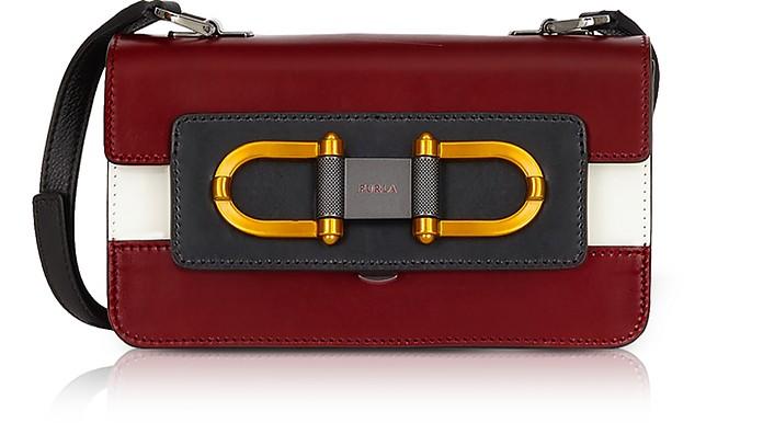 Ciliegia Leather Bellaria Mini Crossbody Bag - Furla