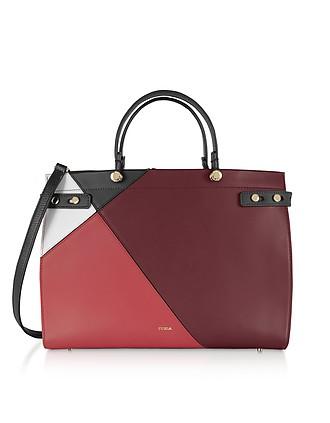 ccc516547b0 Lady M Color Block Large Tote Bag - Furla