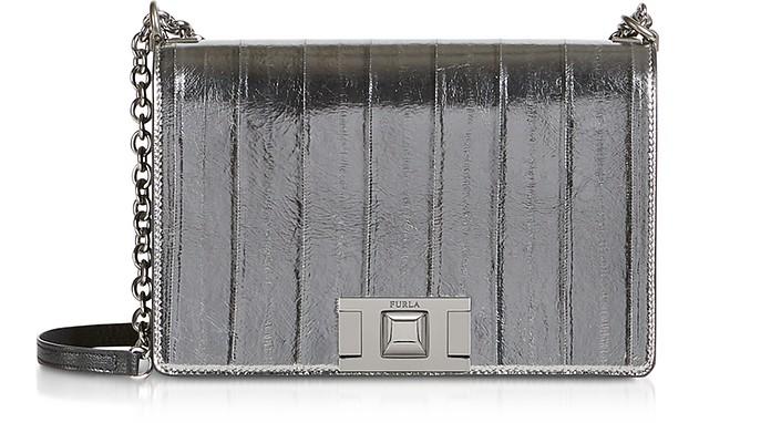 Metallic Leather Mimì S Crossbody Bag - Furla
