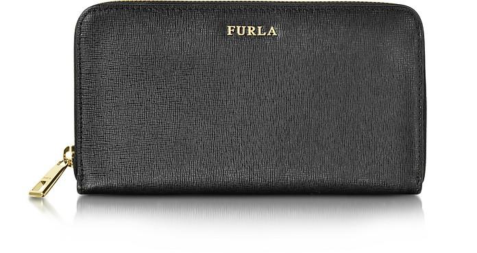 wie kauft man Beste Modestil Furla Babylon XL Brieftasche aus Saffianleder mit Rundumreißverschluss