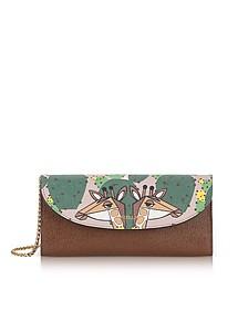 Altopiano Gioia XL Bi-Fold Brieftasche aus Saffianleder - Furla