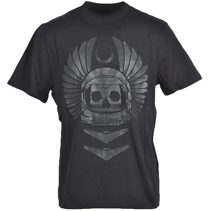 Men's Black T-Shirt - Frankie Morello