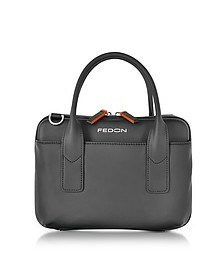 Bubble Double Handles Mini Bag w/Shoulder Strap - Giorgio Fedon 1919